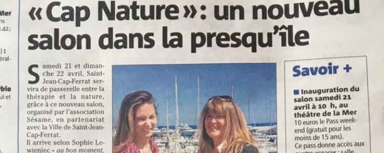 """""""Cap Nature"""" : un nouveau salon dans la presqu'île"""
